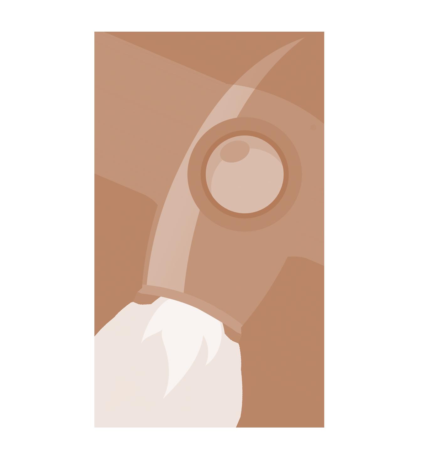criação de conteúdos foguetão